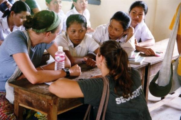 volunteer english in Cambodia