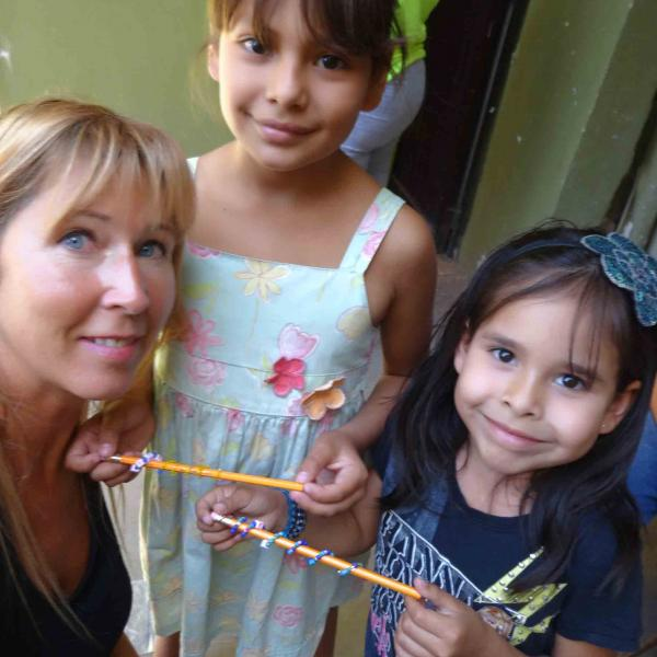 Volunteering in Mexico providing child care and activities