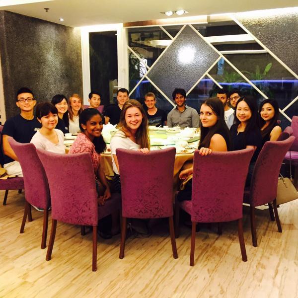 Welcome Dinner Hong Kong