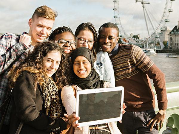 Westminster students London Eye