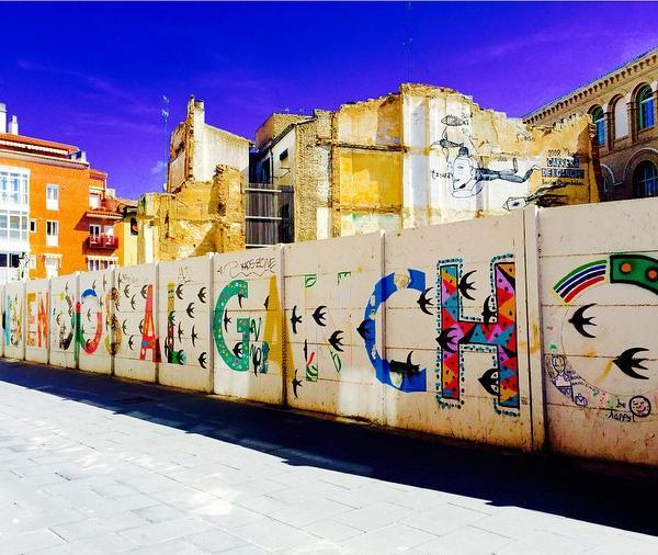 Street Art in Barcelona - Intern in Barcelona - Adelante Abroad