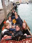 CIMBA Students on a Gondola in Venice, Italy, which is about an hour from the undergraduate campus. Students have built-in, independent time to travel Europe