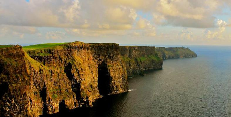 The Cliffs of Moher of Ireland
