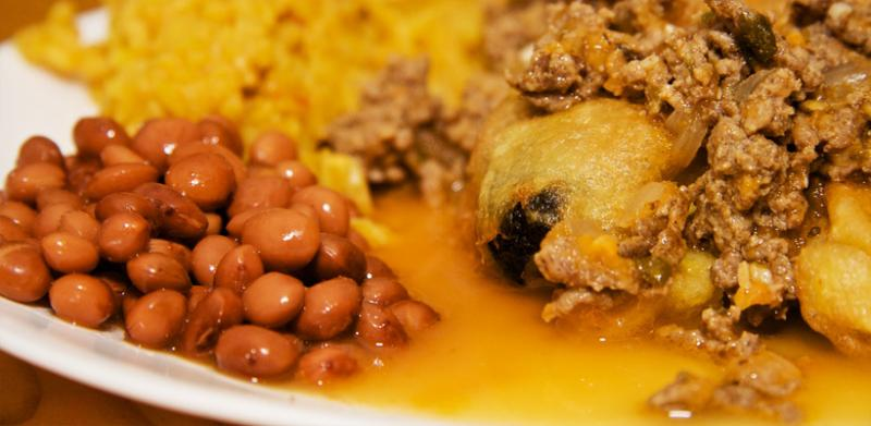Mouth-watering Chile Rellenos.
