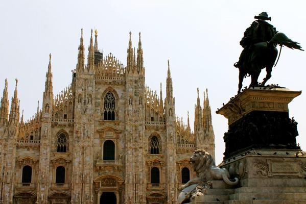 Milan Cathedral, Milan, Italy.