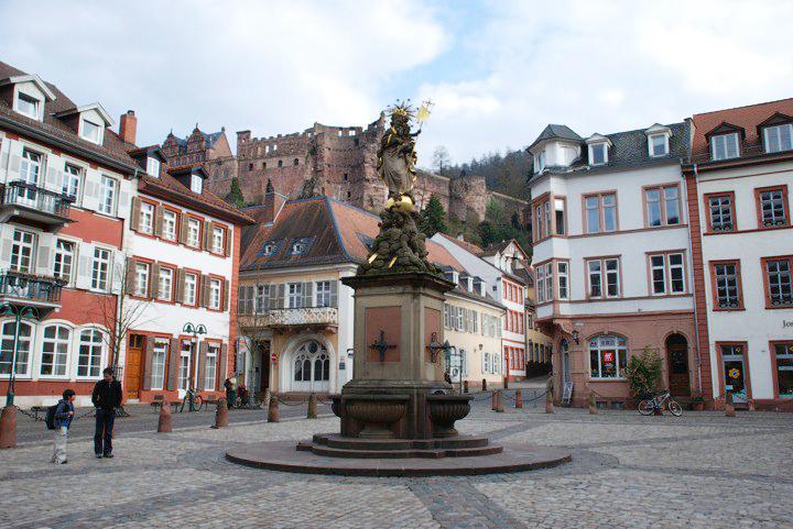 Heidelberg Altstadt or Old Town