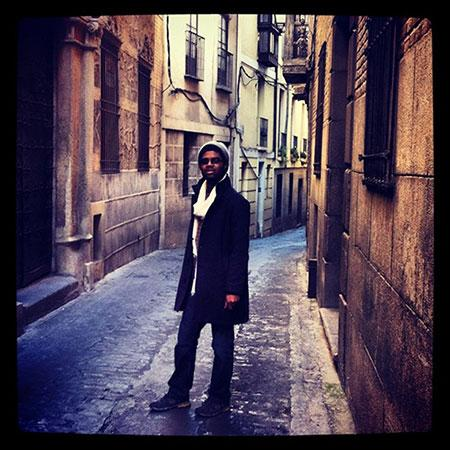 labyrinthian streets of San Sebastian