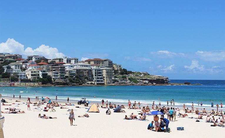Bondi beach,Sydney,Australia