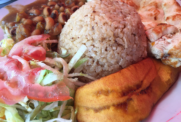 Colombian Lunch