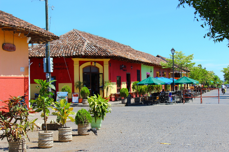 Street Cafes in Granada, Nicaragua
