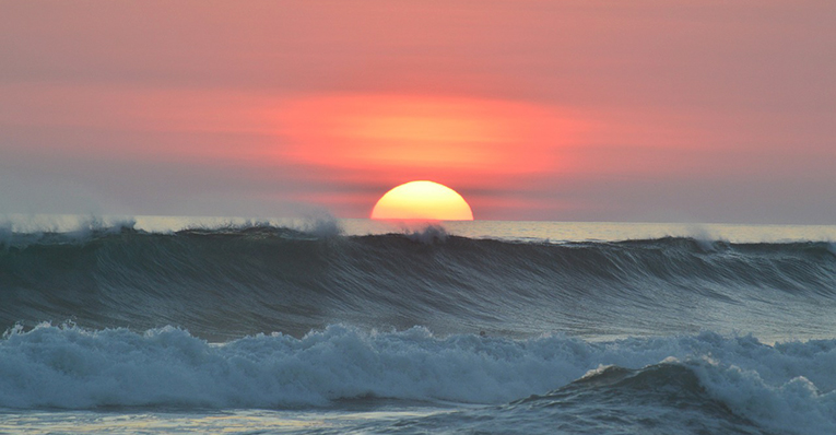 Stunning sunset view