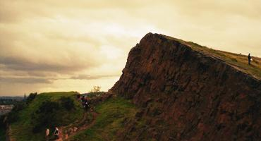 The Crags of Holyrood Park.