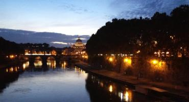 The Beauty of Rome at Nightfall.