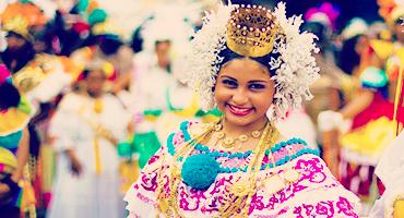 colourful tradition of Central America