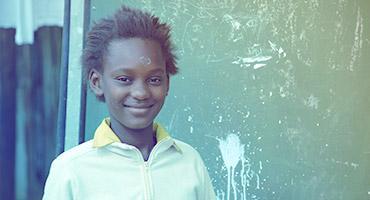 A boy from Nigeria