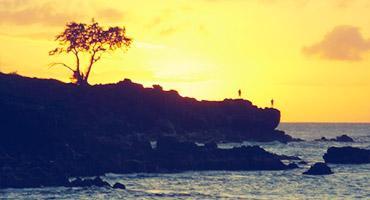 Waimea Rock, Hawaii.