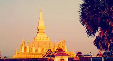 Golden Pagoda, Laos