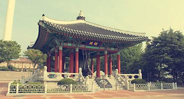 A temple in Busan, South Korea