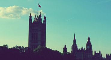 Government buildings in London, England