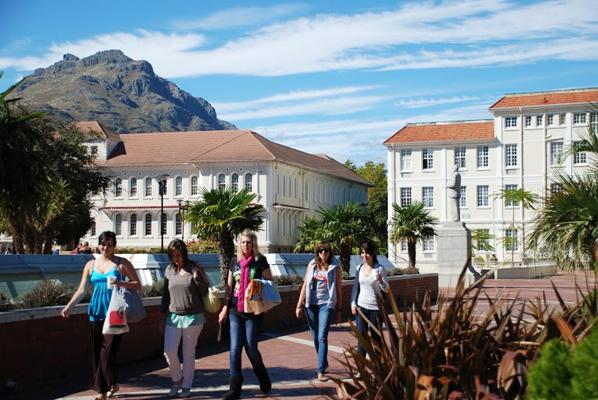 South Africa university students