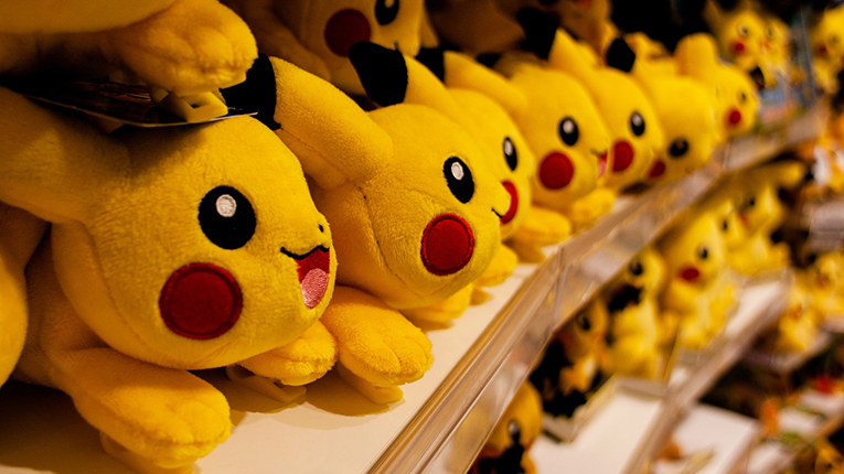 Pikachu stuffed animals
