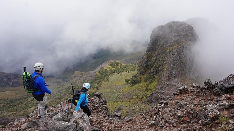 Climbing Mt. Rumiñahui