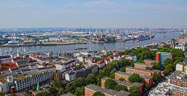 Hamburg Port, Germany