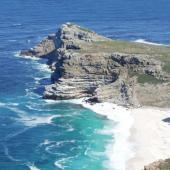 Cape Point, one of many spectacular views in South Africa