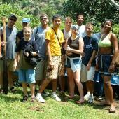 Volunteering in conservation in natural areas is one of Costa Rica's most popular programs.