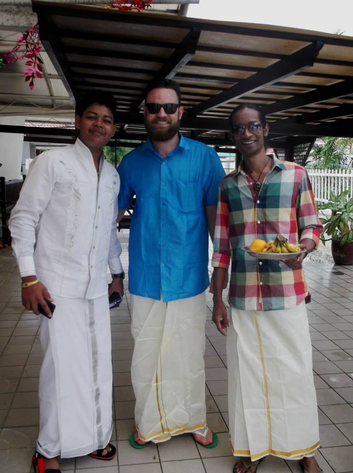 People attending a wedding in Malaysia