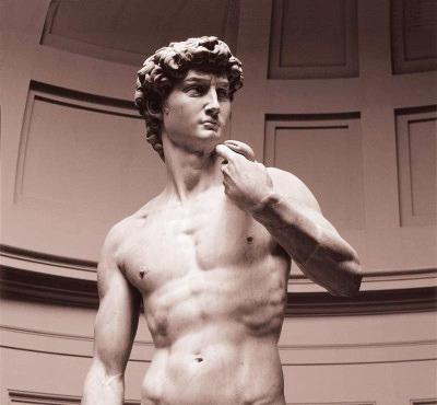 David, created by the Italian artist Michelangelo