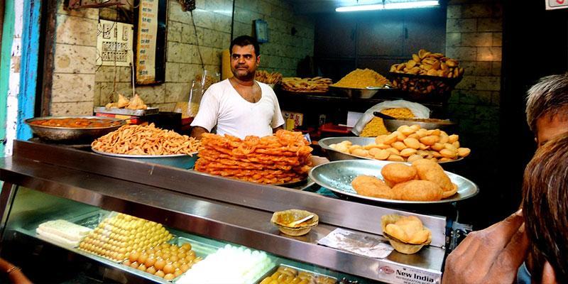 Tourist Street Food New Delhi Delhi
