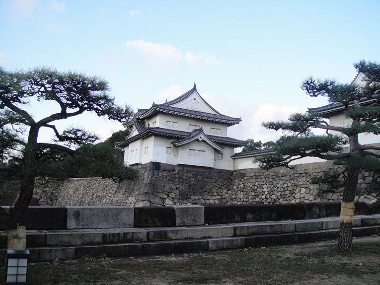 Castle in Kyushu, Japan
