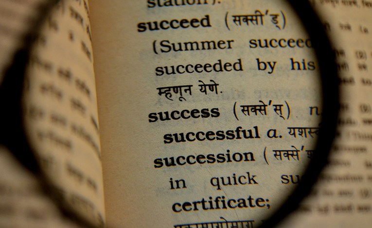 Success in a bilingual dictionary
