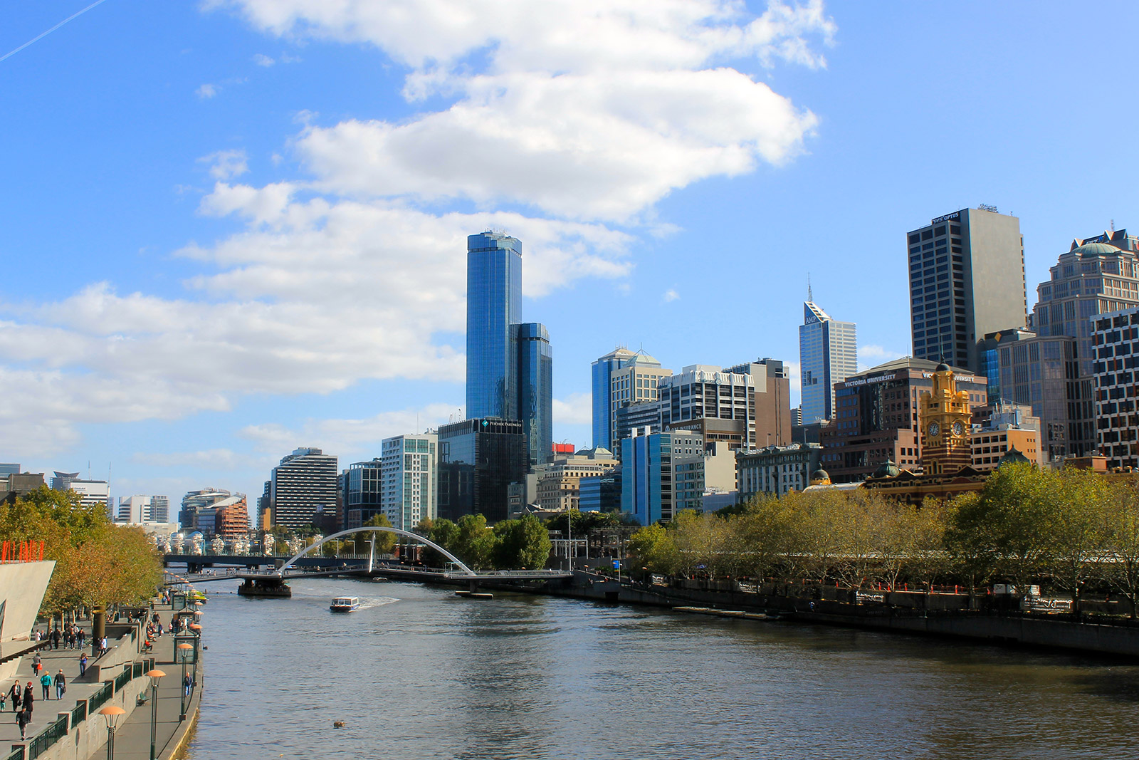 Melbourne cityscape. Photo by Victoria MIta