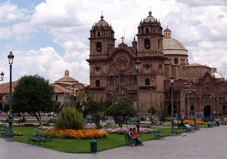 The Cathedral Basilica of the Assumption of the Virgin in Cusco, Peru