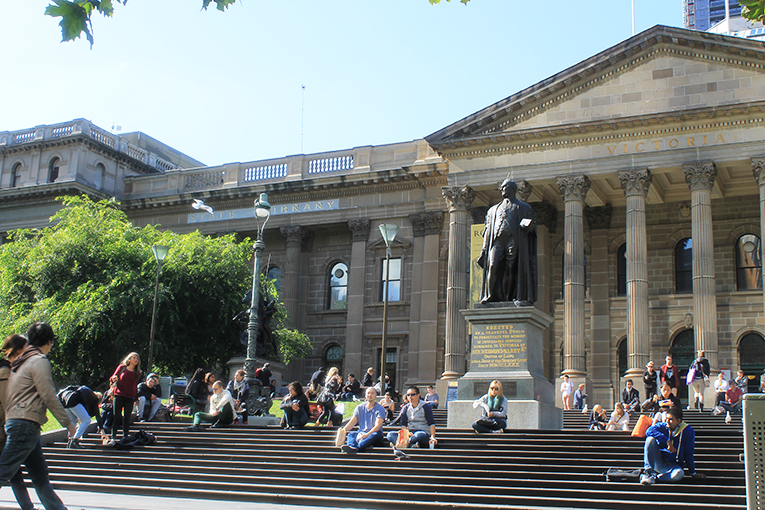 VIC state library steps
