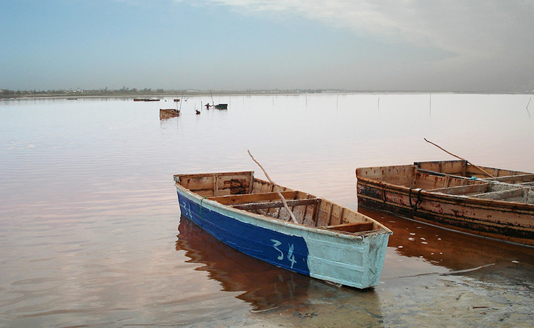 Lake in Senegal
