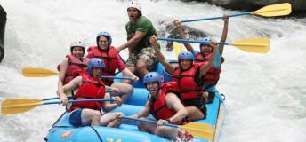 White-water rafting in Costa Rica