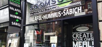 Soomsoom Vegetarian Bar.