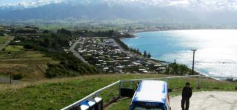 View of Kaikoura, New Zealand
