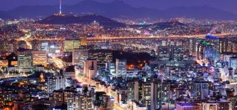Cityscape of Seoul, South Korea