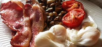A traditional English breakfast