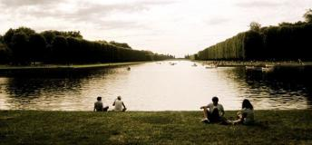Relaxing Pastime in Versailles, France
