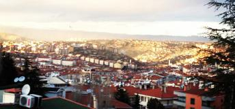 View of Ankara, Turkey.