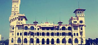 King Farouk's Palace in Alexandria, Egypt