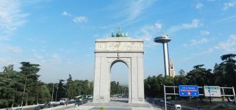 Arco de la Victoria, Madrid.