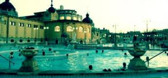 Budapest Széchenyi thermal baths