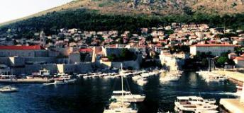 A port on the Adriatic Sea in the state of Croatia