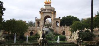 Parque de la Ciutadella Barcelona, Spain.